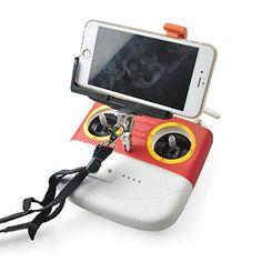 Hobby-Fun FPV del teléfono móvil del teléfono celular de dispositivos de montaje sostenedor del soporte para el transmisor Estándar 3 DJI Phantom - http://www.midronepro.com/producto/hobby-fun-fpv-del-telefono-movil-del-telefono-celular-de-dispositivos-de-montaje-sostenedor-del-soporte-para-el-transmisor-estandar-3-dji-phantom/