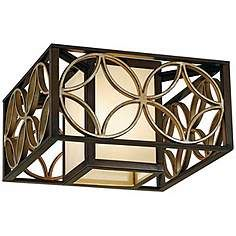 """Feiss Remy Collection 14 1/2"""" Wide Ceiling Light"""