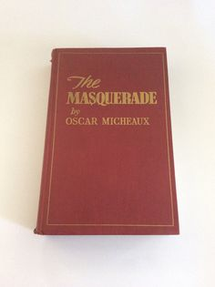 The Masquerade by Oscar Micheaux Vintage Book by ClassicsByTAF