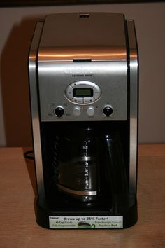 Cuisinart makes the best coffee makers!