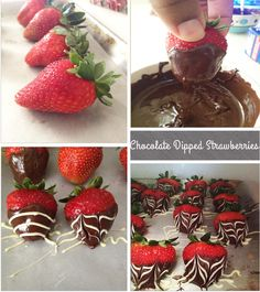 Chocolate Dipped Strawberries: DIY Christmas Treat [Christmas Eve] - Jessiker Bakes | The Blog