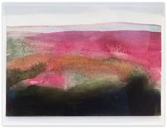 Jo Dalgety - watercolour and charcoal on paper.