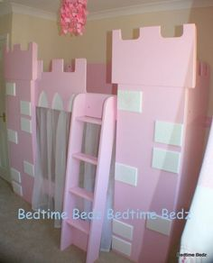 Baby Room Ideas For Girls Pink Princesses Castle Bed 49 Ideas