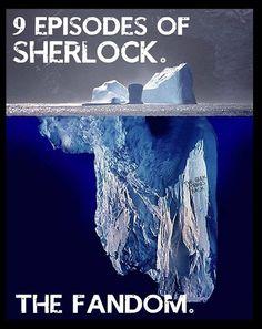 Sherlock Fandom. Wow!  Accurate!