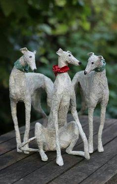 Dog sculptures - Lorraine Corrigan -