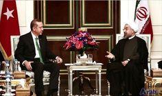 Erdoğan, Rouhani probe in phone call promoting ties