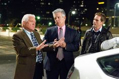 G.W. Bailey, Tony Denison, and Phillip P. Keene in The Closer (2005)
