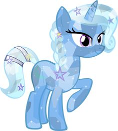 Crystal Trixie by HampshireukBrony.deviantart.com on @deviantART