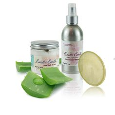 Cancer Patients' & Survivors' Aloe Vera Gift Set to help her love her skin again post-treatmentOur cancer patients' and survivors aloe vera gift set bundles our most soothing and toxin fighting, unscented aloe vera skin care products to help the cancer fighter or survivor in your life to love the look and feel of her skin again.