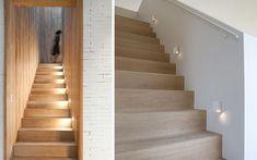 Ideas para iluminar la escalera
