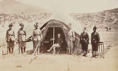 Indian soldiers with Major-General Roberts at Alikhel, 1879 (c)