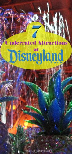 """The post """"Don& pass up these amazingly underrated attractions at Disneyland Park on your next visit Disneyland Dining, Disneyland Vacation, Disney Vacation Planning, Disneyland California, Disney Vacations, California Vacation, Southern California, Attractions Disneyland, Viajes"""