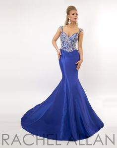 Prima Donna Pageant Dress 5724 Long Gown - Everything4pageants.com
