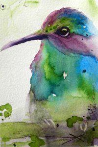 beautiful watercolours by redbirdcottageart