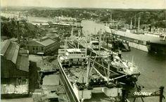 Vestfold fylke Sandefjord Framnes Mek Verksted Utg Mittet postgått 1947 Paris Skyline, Whale, Ships, Travel, Boats, Whales, Ship, Viajes, Traveling