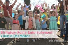 Birthday Party Entertainment 4 Kids in Des Moines - dsm4kids.com