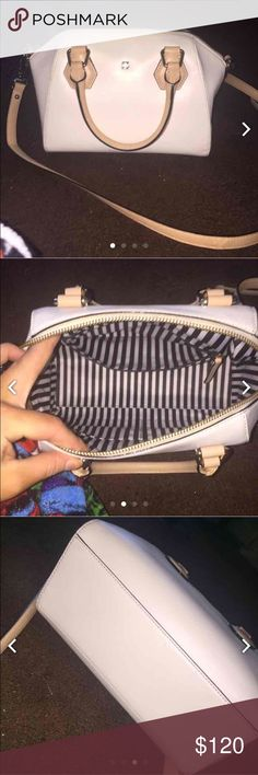 Kate Spade Purse $300 purse! I got it when it came out and I just saw it at Nordstrom rack for $200. I've used maybe once or twice because I was scared to mess it up. Excellent condition! kate spade Bags Satchels