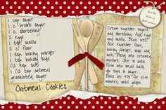 Images of recipe scrapbooking | Printing Recipe Cards - DigiShopTalk Digital Scrapbooking