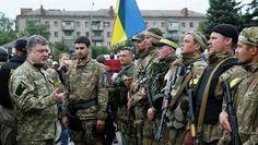 Poroshenko, dispuesto a negociar con quienes representen al Este - Minuto A Minuto
