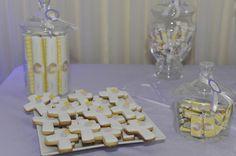golosinas personalizadas y cookies 1ª Comunión!