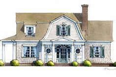 Looking for the best house plans? Check out the Sadie Springs Retreat plan from Southern Living. Southern Living House Plans, Simple House Plans, Best House Plans, Country House Plans, Modern House Plans, House Floor Plans, Simple Floor Plans, Dutch Colonial Homes, Colonial House Plans