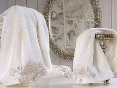 Ręcznik haftowany, 50x90 cm
