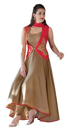 Heart & Soul Designer Wedding & Party Wear Fully Stitched Embroidery Designer Salwar Suits Dupatta XL size for women(Brown) Heart & Soul http://www.amazon.in/dp/B01CA6QWK8/ref=cm_sw_r_pi_dp_qlA0wb0602Z8C