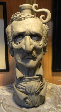 Edgar Allan Poe Jug-WIP by thebigduluth on DeviantArt