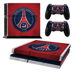 PARIS SAINT-GERMAIN F.C Playstation 4 PS4 Skin Decal Sticker Cover Playstation 4 Custom Made