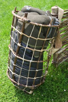 Wilderness Survival Skills and Bushcraft Antics: Primitive Packs – load carrying equipment made from sticks, skins and string: #WildernessSurvival