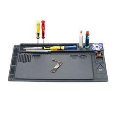 2 in 1 Multi-function Silicone Mat Table Pad Maintenance Platform BGA Soldering Repair Workstation