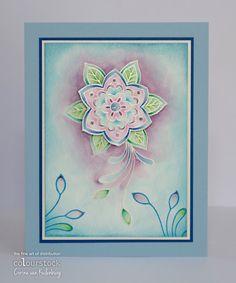 Colourstock: Mandala flower