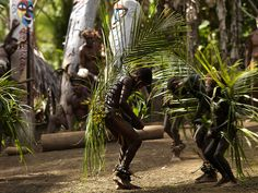 Palm Tree Dance Of The Small Nambas, Malekula Island, Vanuatu