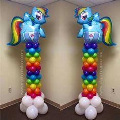 Resultado de imagem para my little pony birthday party ideas