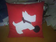 scottie dog cushion - The Supermums Craft Fair