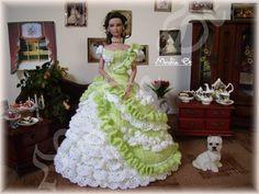 My crochet gown for tonner dolls – Monika St – Webová alba Picasa