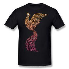 Aliexpress.com: Comprar O Cuello Últimas Phoenix hombre t shirt Barato Venta 100% Algodón camiseta para Los Hombres de camisas usted puede diseñar fiable proveedores en U and Me Tees