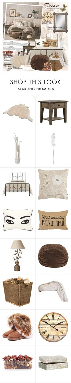 """My Bedroom ♥"" by oshint ❤ liked on Polyvore featuring interior, interiors, interior design, home, home decor, interior decorating, Love Quotes Scarves, Wandschappen, Pier 1 Imports and Jonathan Adler"