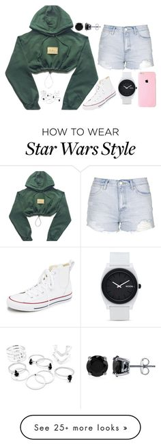 """mark my words"" by josie-posie on Polyvore featuring Topshop, Converse, BERRICLE, Nixon, women's clothing, women's fashion, women, female, woman and misses"