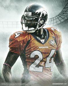 Designing Sport — Champ Bailey, Denver Broncos