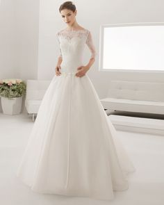 8B166 PERLA | Wedding Dresses | 2015 Collection | Alma Novia