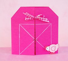 farm party invite, too cute! (just not pink)