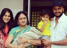 Share this Riteish Deshmukh and wife Genelia D'Souza have named their second son Rahyl Riteish Deshmukh. Actor Riteish Deshmukh and wife Genelia D'Souza have named their s… Top Baby Girl Names, Cute Girl Names, Cool Baby Names, Newborn Baby Care, Newborn Baby Photos, Celebrity Baby Names, Celebrity Babies, Second Baby, Second Child