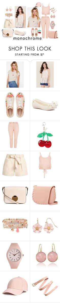 """""""Untitled #413"""" by amliw ❤ liked on Polyvore featuring Anine Bing, Melissa, Edie Parker, Étoile Isabel Marant, Cynthia Rowley, Accessorize, LC Lauren Conrad and Aéropostale"""