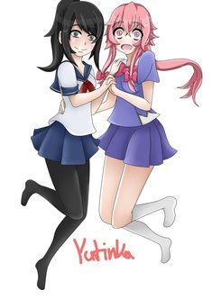 Yandere-chan & Yuno.