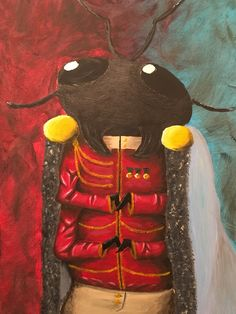Archduke Beetle. A insect spin on a classic painting. The beetle looks proud in his best regalia.