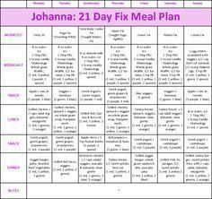 21 Day Fix example Meal Plan #21dayfix https://teambeachbody.com/checkout/-/bbcheckout/challengepack?referringRepId=263553