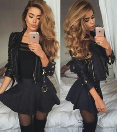 Was anziehen, um die 10 besten Outfits rauszuholen - # . - my mode Clubbing Outfits, Sexy Outfits, Trendy Outfits, Fall Outfits, Fashion Outfits, Womens Fashion, Skirt Fashion, Ladies Fashion, Sexy Winter Outfits