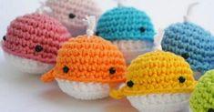Crochet Toy Patterns Bichus Amigurumis: Mini Ballenas Amigurumi Patron paso a paso Crochet Toys Patterns, Amigurumi Patterns, Stuffed Toys Patterns, Crochet Dolls, Knitting Patterns, Amigurumi Free, Amigurumi Tutorial, Kawaii Crochet, Cute Crochet