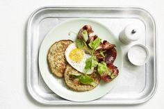 Savoury Spinach Pancakes via @iquitsugar